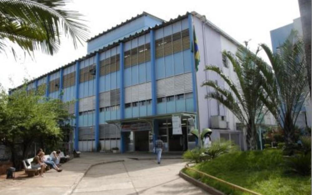 Hospital das Clínicas, em Goiânia — Foto: HC-UFG/Reprodução