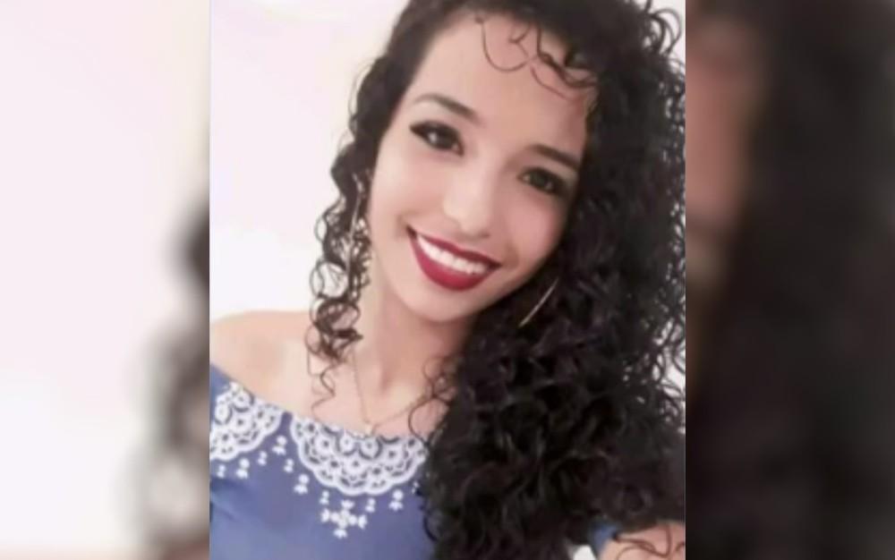 Nadielly Fernandes Tomaz é encontrada um mês após desaparecimento — Foto: Reprodução/TV Anhanguera