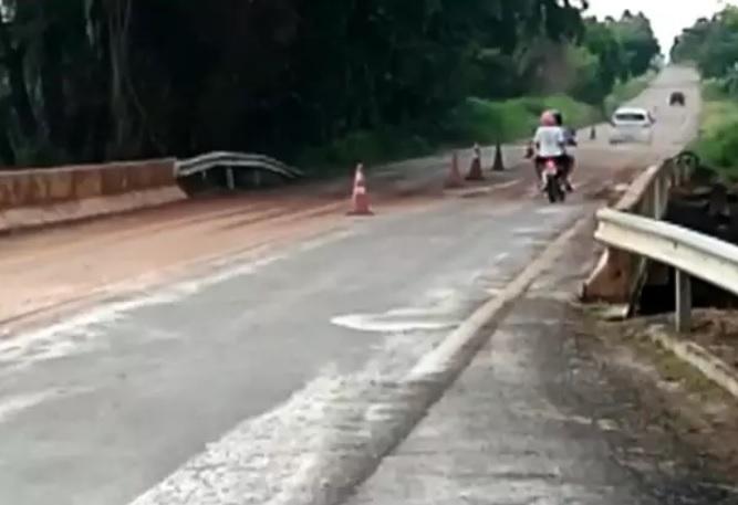 Após 15 dias interditada, Goinfra libera tráfego da GO-040, em Pontalina (Foto: Divulgação/Goinfra)