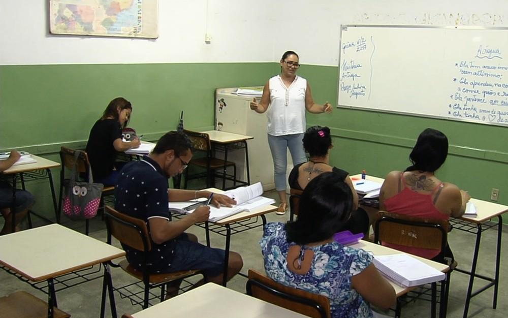 Secretaria de Educação oferece cerca de 9,5 mil vagas para o Eaja em Goiânia — Foto: TV Anhanguera/Reprodução