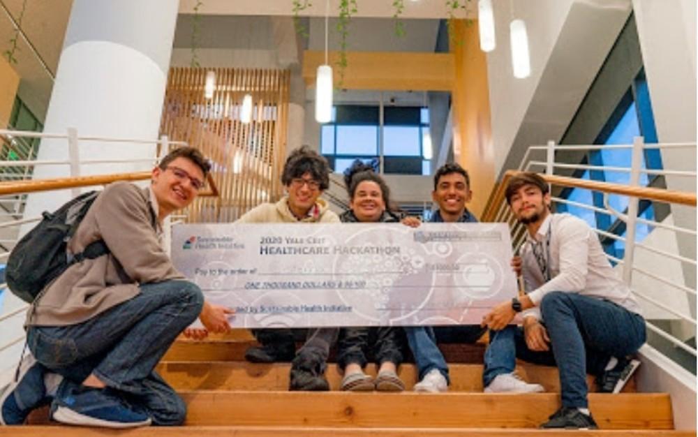 Equipe brasileira é premiada nos EUA por desenvolver sistema de tratamento de esgoto — Foto: Graziele Gonçalves/Arquivo Pessoal