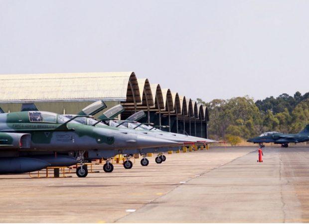 Base Aérea de Anápolis pode ser usada para quarentena (Foto: Reprodução)