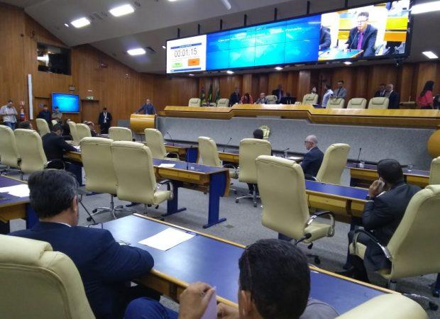 Plenário da Câmara (Foto: Samuel Straioto/Mais Goiás)