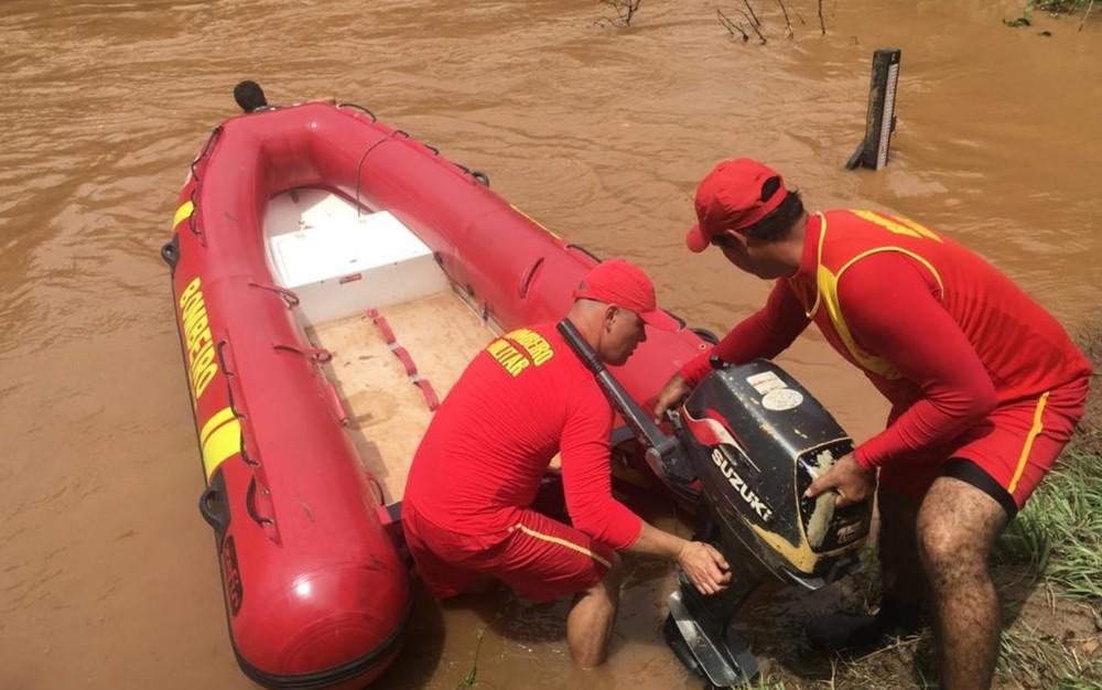 Bombeiros registram 5 mortes por afogamento durante operação no carnaval em Goiás — Foto: Corpo de Bombeiros/Divulgação