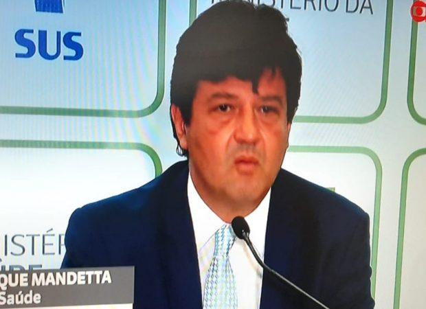 Ministério da Saúde confirma 1º caso de coronavírus no Brasil (Foto: Divulgação/Globo News)
