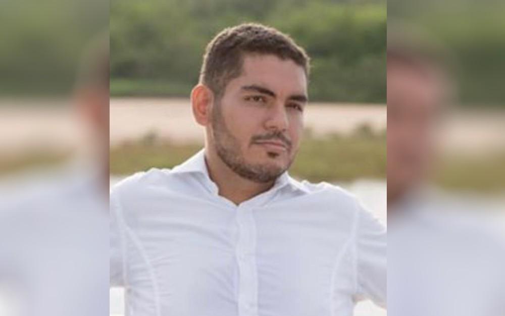 Advogado Hans Brasiel foi encontrado morto a tiros dentro de escritório, em Aruanã — Foto: Reprodução/TV Anhanguera
