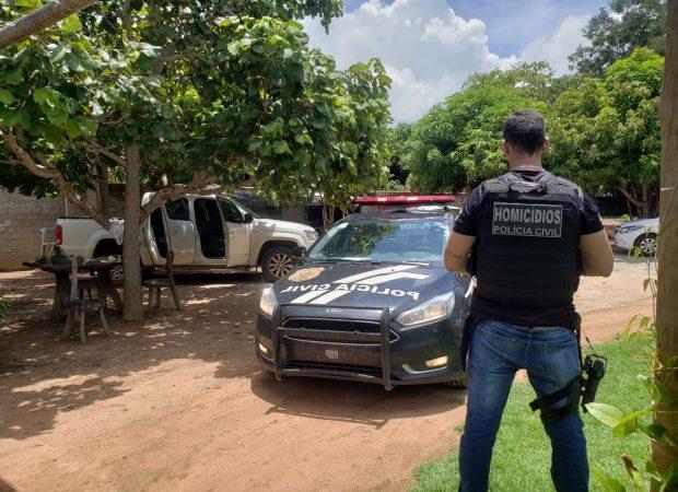 Suspeito de mandar matar advogado em Aruanã é preso (Foto: Divulgação/PC)