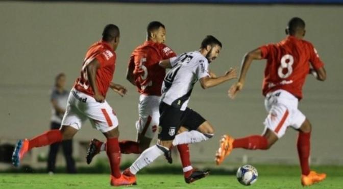 Vila Nova é eliminado pela Ponte Preta em jogo válido pela segunda fase da Copa do Brasil. Eliminação ocorreu nos pênaltis. (Foto: Federação Goiana de Futebol)