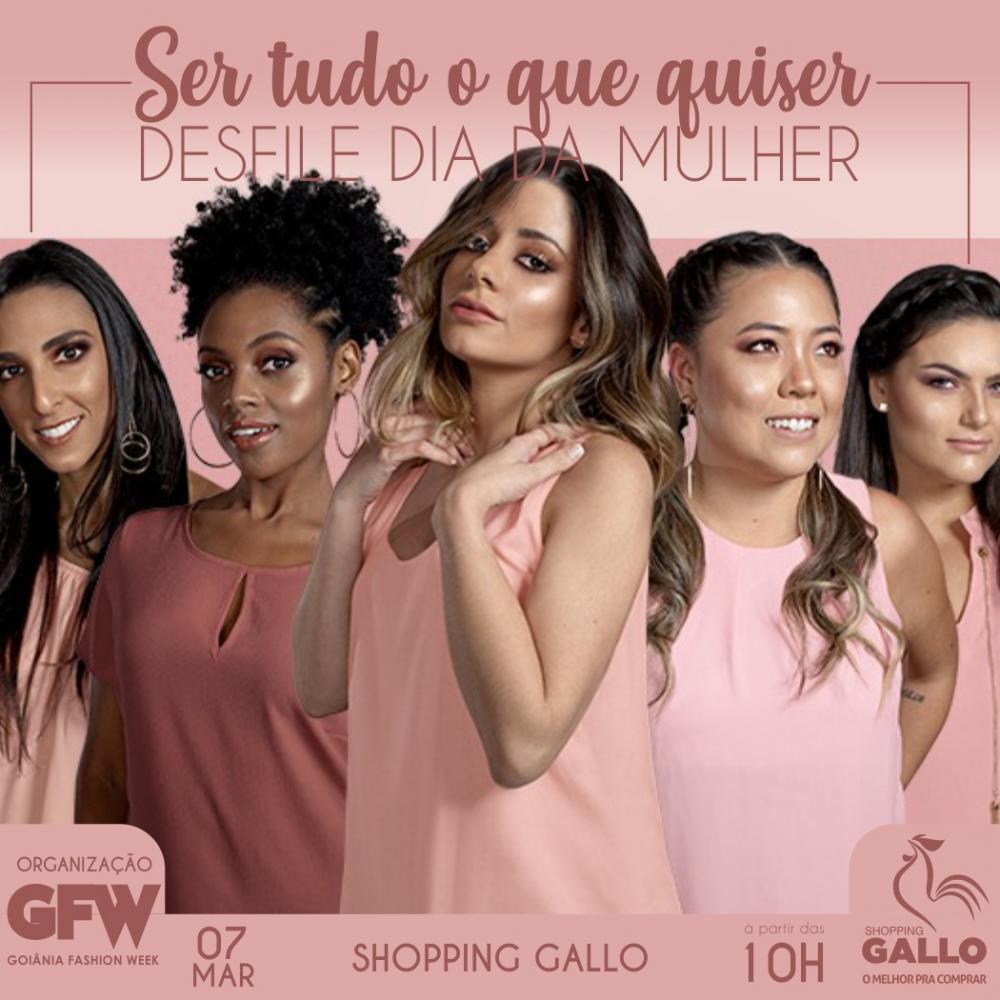 Dia Internacional da Mulher: desfile valoriza a beleza da diversidade feminina