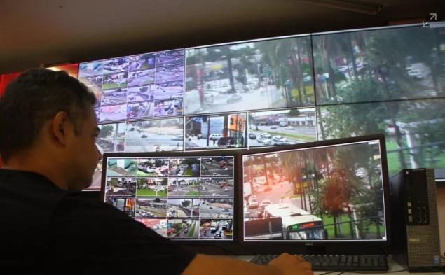Novas câmeras de segurança ajudarão a coibir atos de vandalismo em Goiânia, Goiás — Foto: Prefeitura Municipal de Goiânia/Divulgação