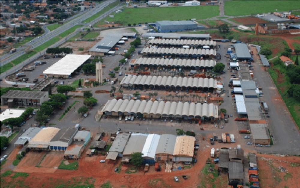Ceasa em Goiânia, Goiás — Foto: Ceasa-GO/Divulgação