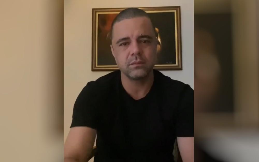 Pastor Davi Passamani nega crimes em vídeo — Foto: Reprodução/Instagram
