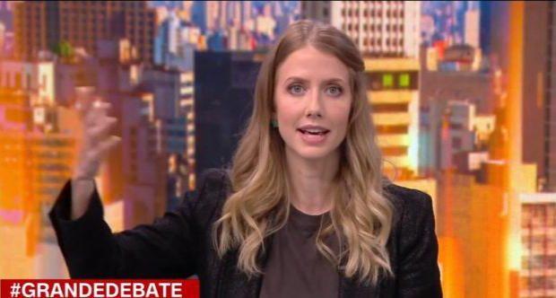 A advogada e comentarista política Gabriela Prioli deverá ser promovida e ganhar um formato em horário nobre na emissora. (Foto: Reprodução)