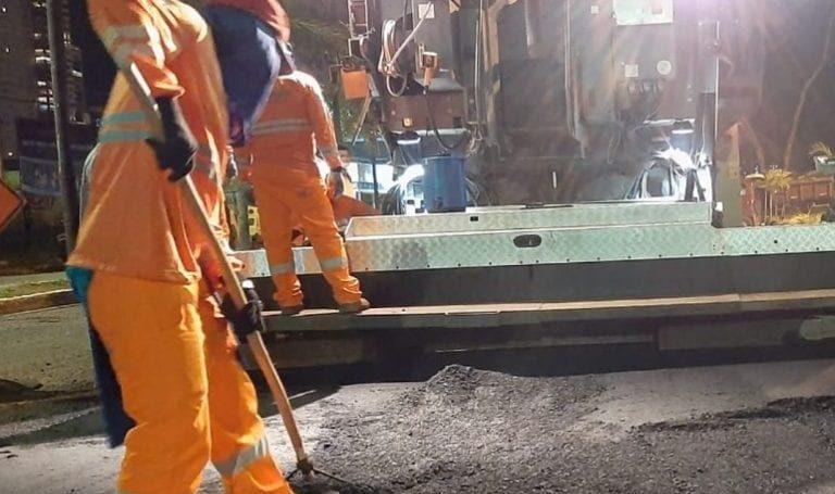 Obras em Goiânia: reconstrução asfáltica começa em Campinas