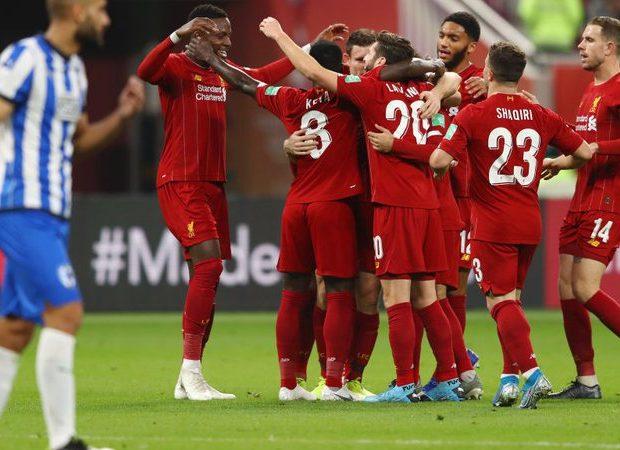 Firmino decide no fim, Liverpool vence Monterrey e encara Fla na final do Mundial (Foto: Gettyimages)