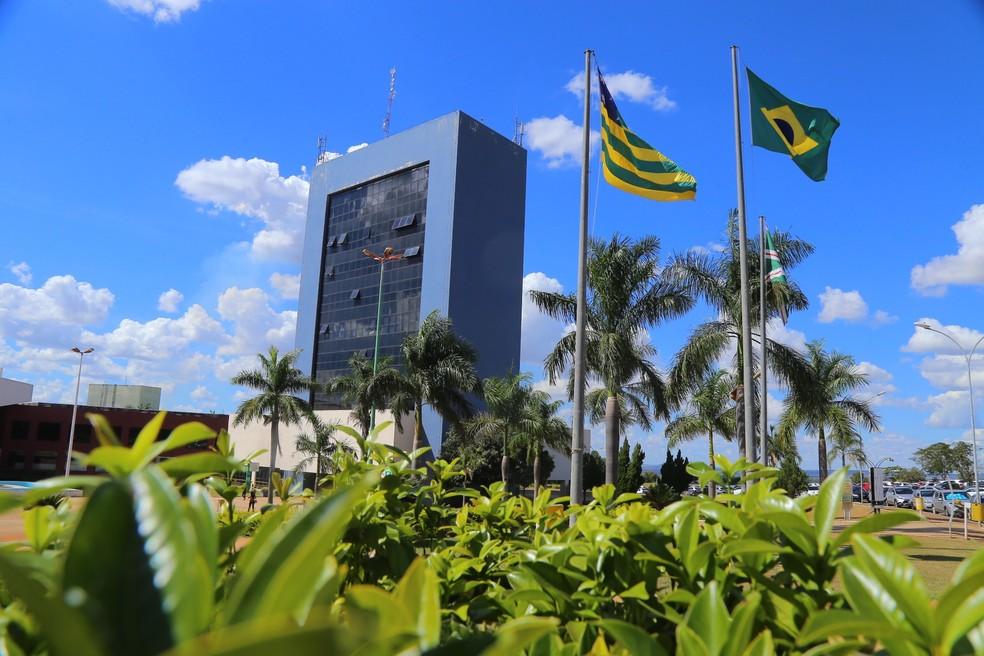 Paço Municipal, em Goiânia, Goiás — Foto: Jackson Rodrigues/Divulgação