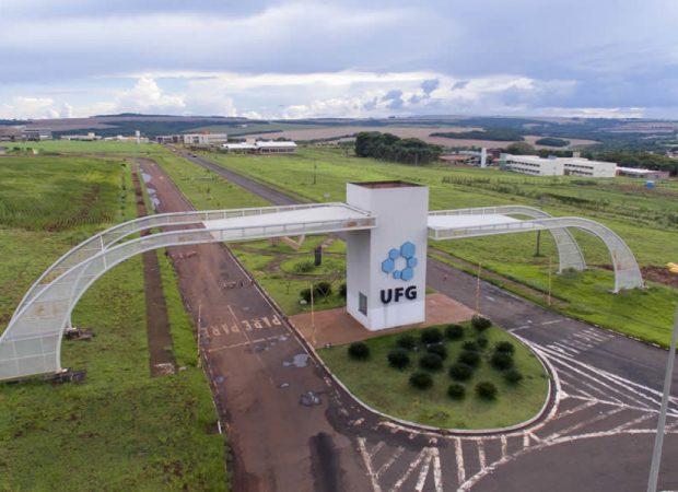 Campus da Regional da UFG em Jataí. (Foto: Reprodução/UFG)